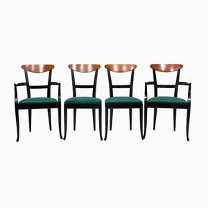 Italian Side Chairs from Tonon, 1980s, Set of 4