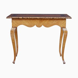 19th Century Swedish Alder Root Console Table