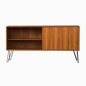 German Walnut Veneer Sideboard, 1950s