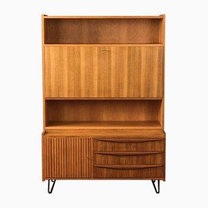 German Walnut Veneer Dresser, 1950s