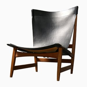 Mid-Century Model Chimney Lounge Chair by Franz Xaver Lutz for WK Möbel, 1950s