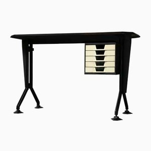 Mid-Century Model Arco Desk by BBPR for Olivetti Synthesis, 1960s