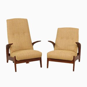 Lounge Chairs by Rolf Rastad & Adolf Relling for Gimson & Slater, 1960s, Set of 2