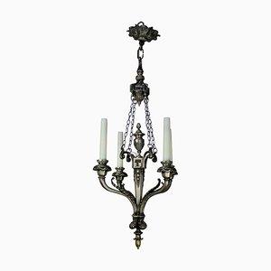 Französische Deckenlampe, 19. Jh.