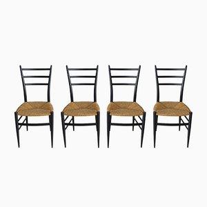 Chaises de Salle à Manger de Spinetto, Italie, 1950s, Set de 4