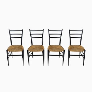 Italian Dining Chairs from Spinetto, 1950s, Set of 4