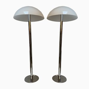 Floor Lamps by Guzzini, 1970s, Set of 2
