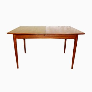 Large Mid-Century Extendable Dining Table, 1960s