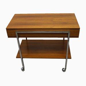 Mid-Century Chrome Side Table, 1960s