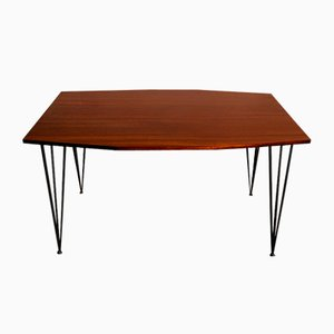 Mid-Century Teak Dining Table by Carlo Ratti for Industria Legni Curvati di Carlo Ratti
