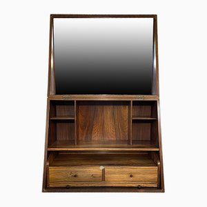 Rosewood Wall Unit by Poul Jensen, 1960s