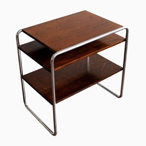 Oak Veneer Model B22 Console Table by Marcel Breuer, 1930s