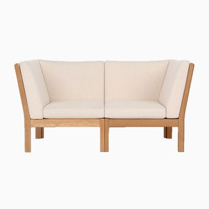 Model GE280 2-Seater Sofa by Hans J. Wegner for Getama, 1980s