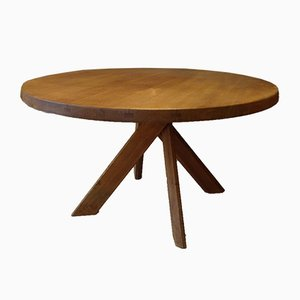 Model T21 Dining Table by Pierre Chapo for Chapo, 1970s