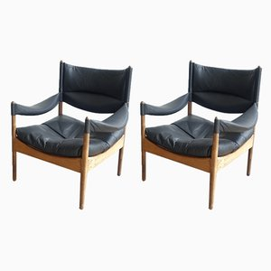 Rosewood Lounge Chairs by Kristian Vedel for Søren Willadsen Møbelfabrik, 1963, Set of 2