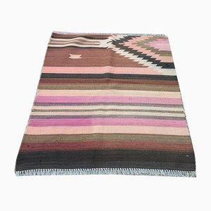 Vintage Turkish Woolen Kilim Rug, 1960s