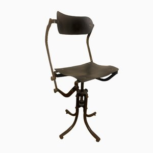Swivel Chair by Freres Nelson for Bienaise, 1920s