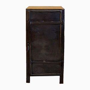 Vintage Industrial Wooden Cabinet, 1930s