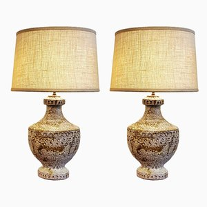 Tischlampen von Alvino Bagni, 1960er, 2er Set