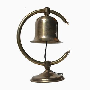 Mid-Century Danish Brass Butler Bell from Cawa, 1960s