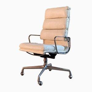 Sedia da scrivania EA219 in alluminio di Charles & Ray Eames per Herman Miller, anni '70