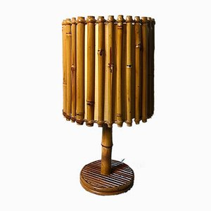 Bamboo Table Lamp, 1950s