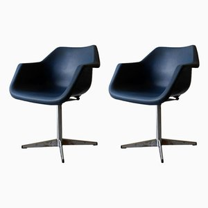 Desk Chairs by Robin Day for Hille, 1970s, Set of 2