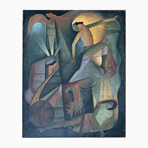 Art Deco Painting, 1930s