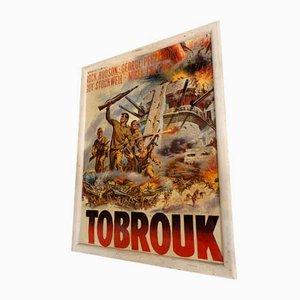 Tobruk Film Poster, 1960s