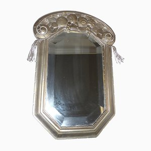 Miroir Art Déco par Saugues, France, 1920s
