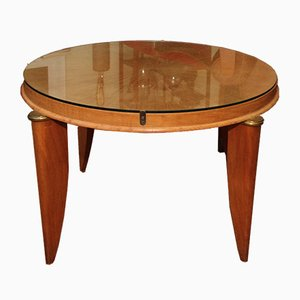 French Art Deco Side Table by Maurice Jallot, 1930s