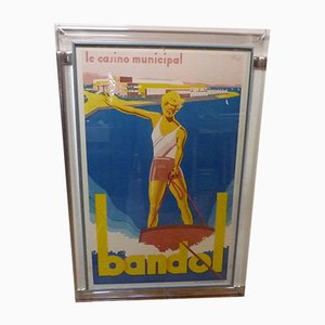 Poster di André Bermond per Druckerei Moullot, Francia, anni '30