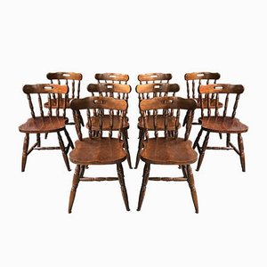 Mid-Century Bar Chairs, Set of 10