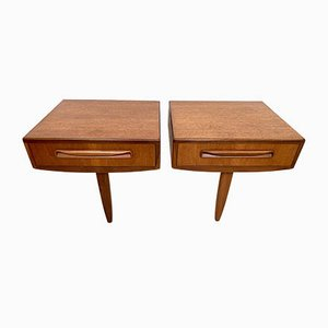 Nightstands by Victor Wilkins for G-Plan, 1960s, Set of 2