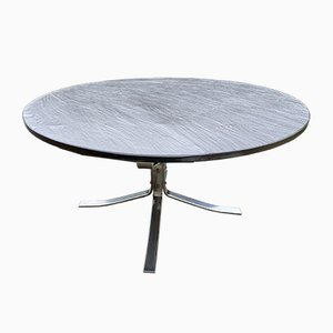 Model Falcon Slate Top Side Table by Sigurd Ressell from Vatne Møbler, 1960s
