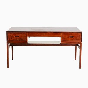 Model 80 Rosewood Desk by Arne Wahl Iversen for Vinde Møbelfabrik, 1960s