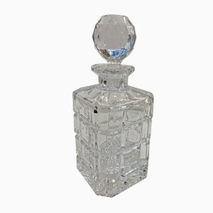 Crystal Whiskey Carafe, 1950s