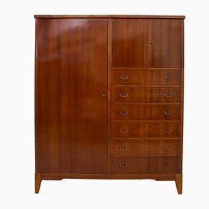 Mueble danés Mid-Century de lino, años 60
