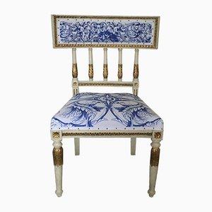 Antiker gustavianischer Beistellstuhl