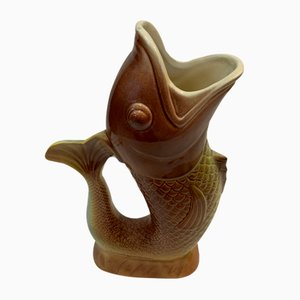 No. 7531 Fish Pitcher Saint Clément, 1950s