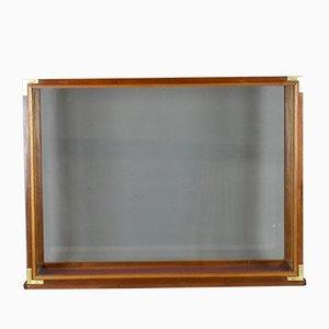 Vintage Mahogany Display Cabinet, 1920s
