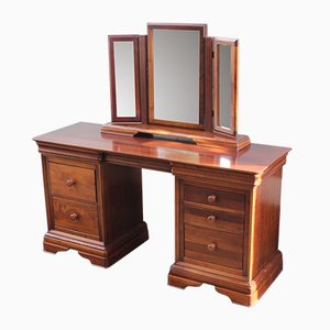 Mahogany Dressing Table with Mirror Stand, 1960s