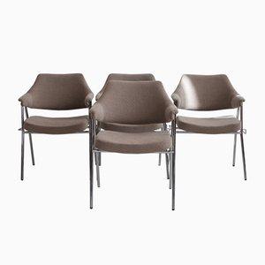 S636 Esszimmerstühle von Hanno von Gustedt für Thonet, 1960er, 4er Set