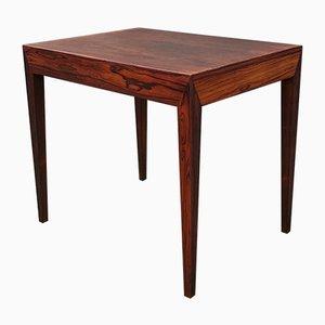 Table d'Appoint en Palissandre par Severin Hansen pour Haslev Møbelsnedkeri, 1960s