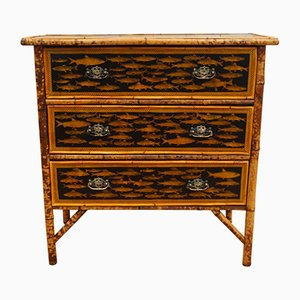 Antique Bamboo Chest