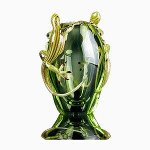 Kleiner Vaso mit 2 Geckos von VG Design & Laboratory Department