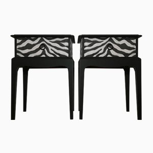 Rosewood Nightstands by Stag, 1980s, Set of 2