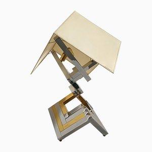 Skulpturale Tischlampe von Willy Rizzo, 1970er