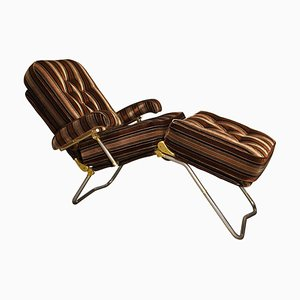 French Lounge Chair from Condor, 1970s