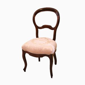 Chaise de Salle à Manger Ancienne en Noyer